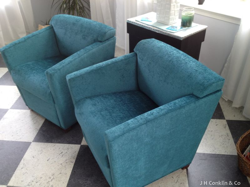 Reupholstered Guest Chairs