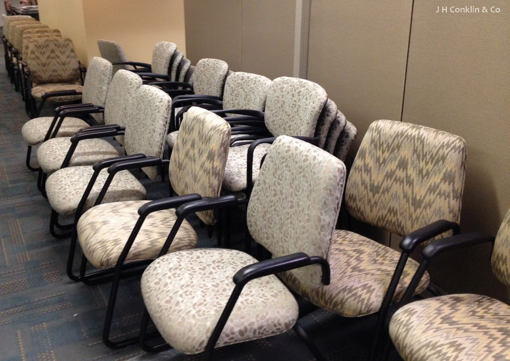 Office Task Chairs Reupholstered