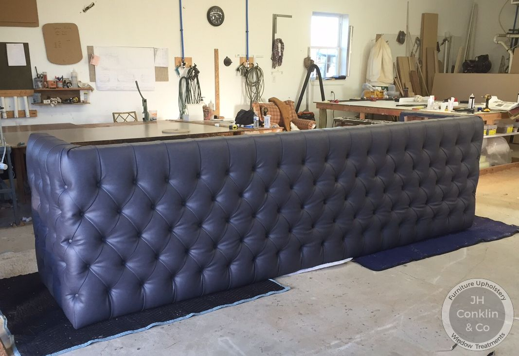 Upholstered Salon Reception
