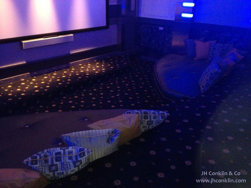Media Room Cushions