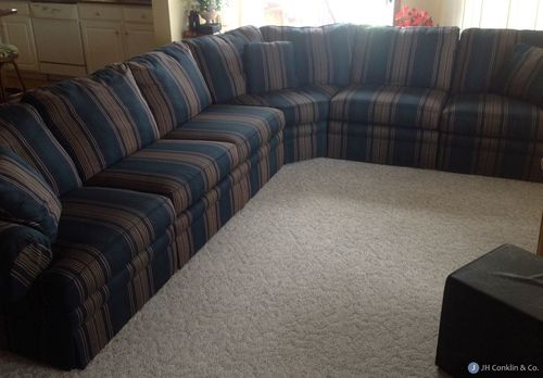 Upholster a sectional sleeper sofa in Delaware