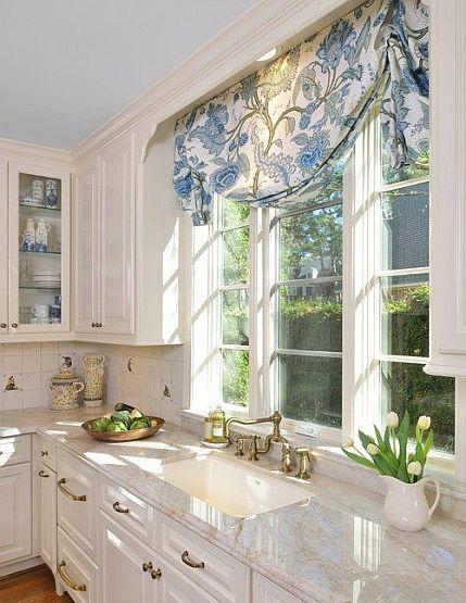 slouch roman shade nj kitchen