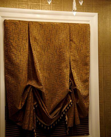 custom london shade with bottom fringe nj