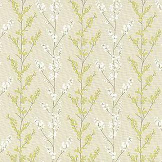 kasmir balloon shade fabric nishino lemongrass