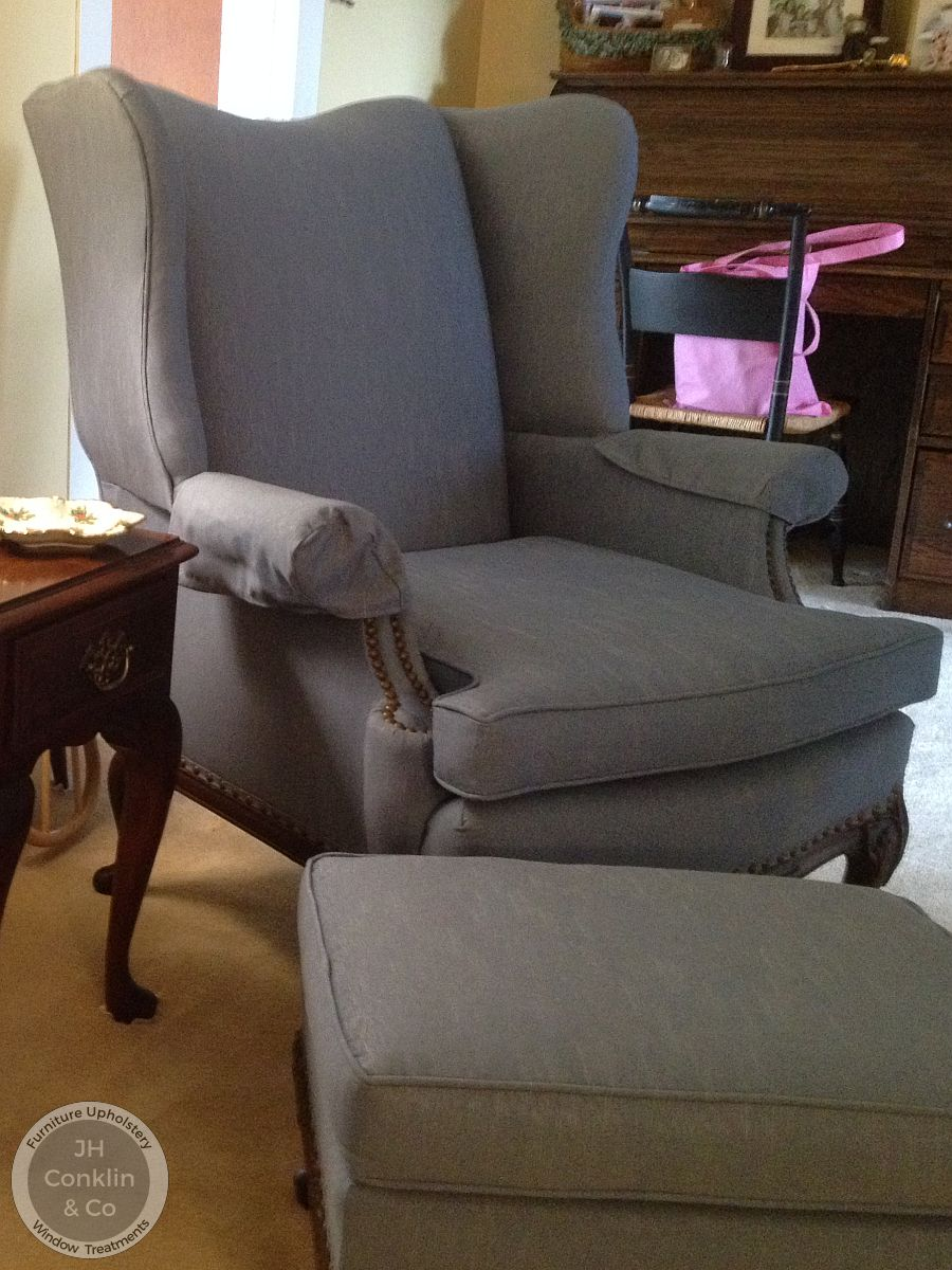 wing chair upholstered sewell nj