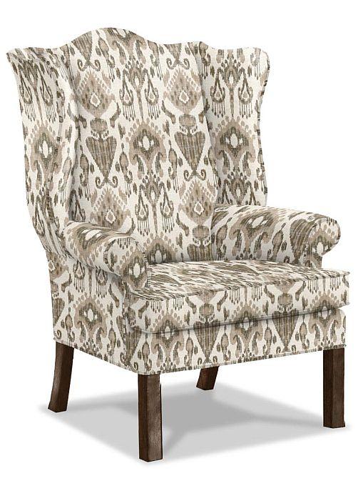 Ethan Allen Montville wing chair