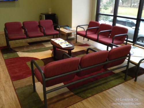 reupholstered waiting area chairs nj