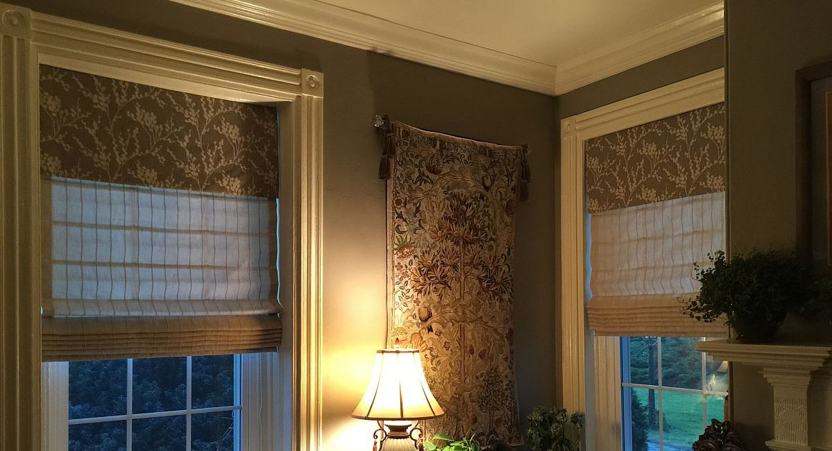 Custom Soft Roman Shades    Styles - Information - Options   Serving Southern New Jersey