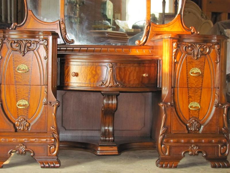 vintage bedroom set refinished voorhees nj