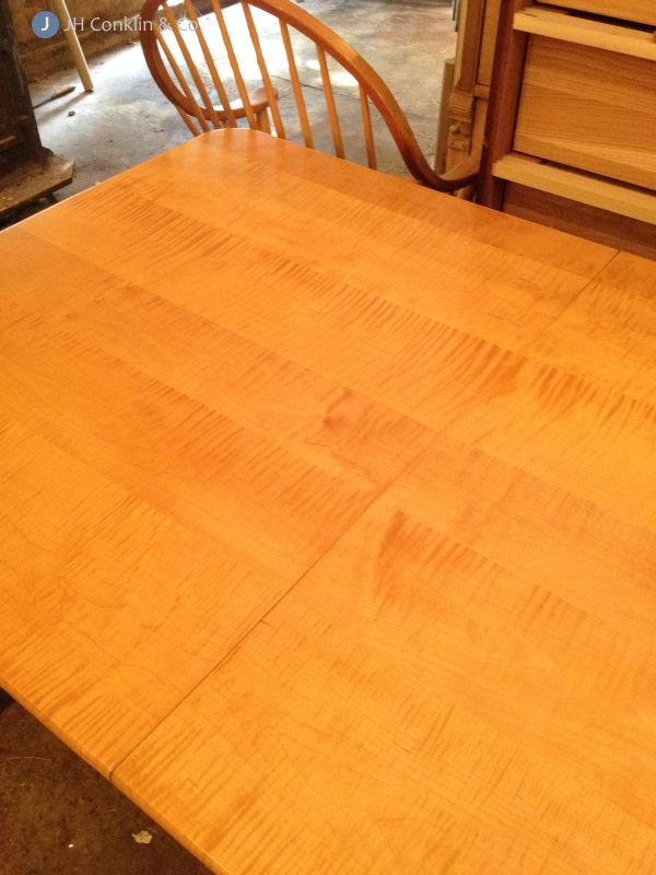 maple table refinished mt laurel nj