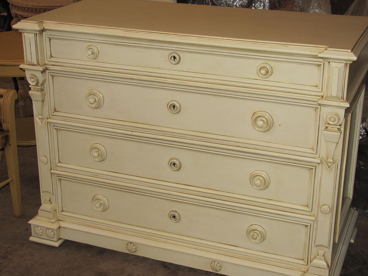 chest of drawers refinished paint de