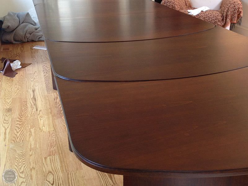 refinished dining table moorestown nj