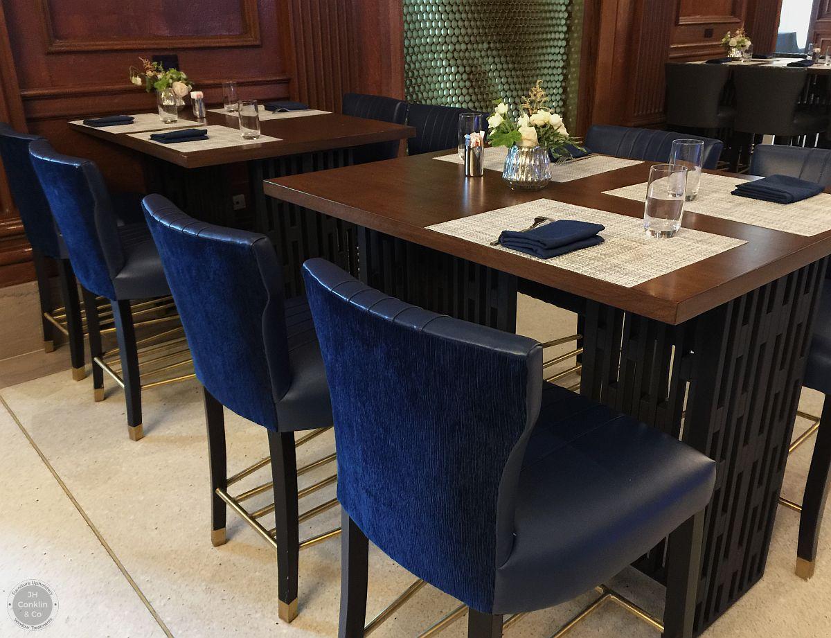 restaurant chairs reupholstered philadelphia