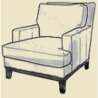 lawson accent chair