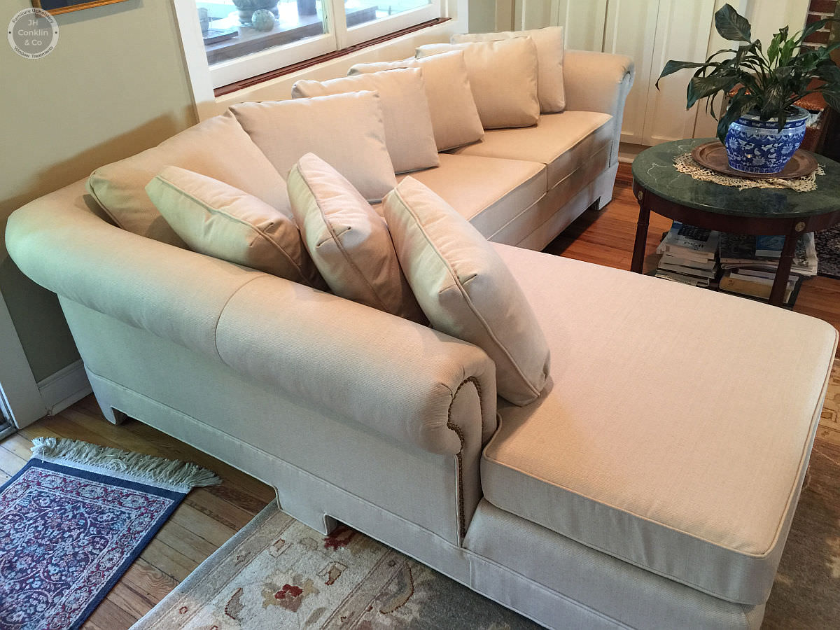 reupholstered sectional wenonah new jersey