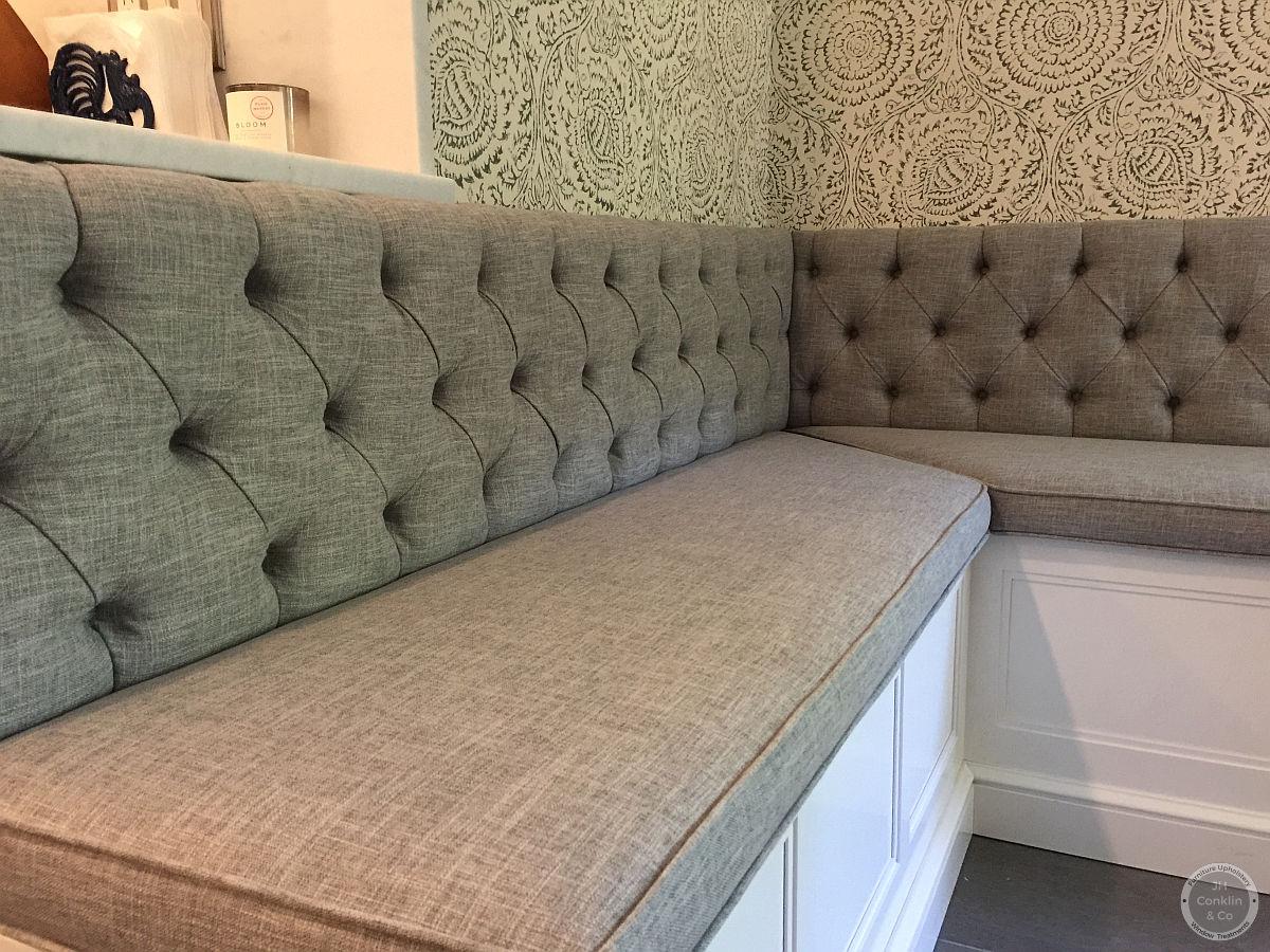 Custom kitchen bench cushions Haddonfield NJ