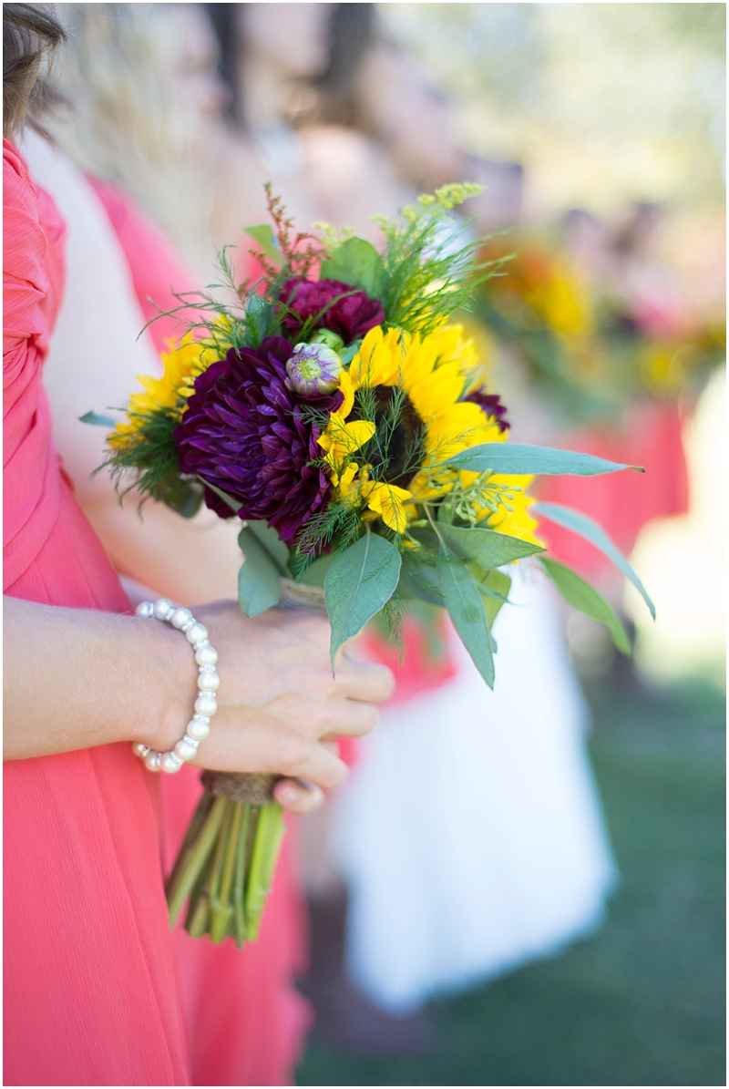 These bouquets were so gorgeous and Lindsey got the perfect side shot during bridal party formals.
