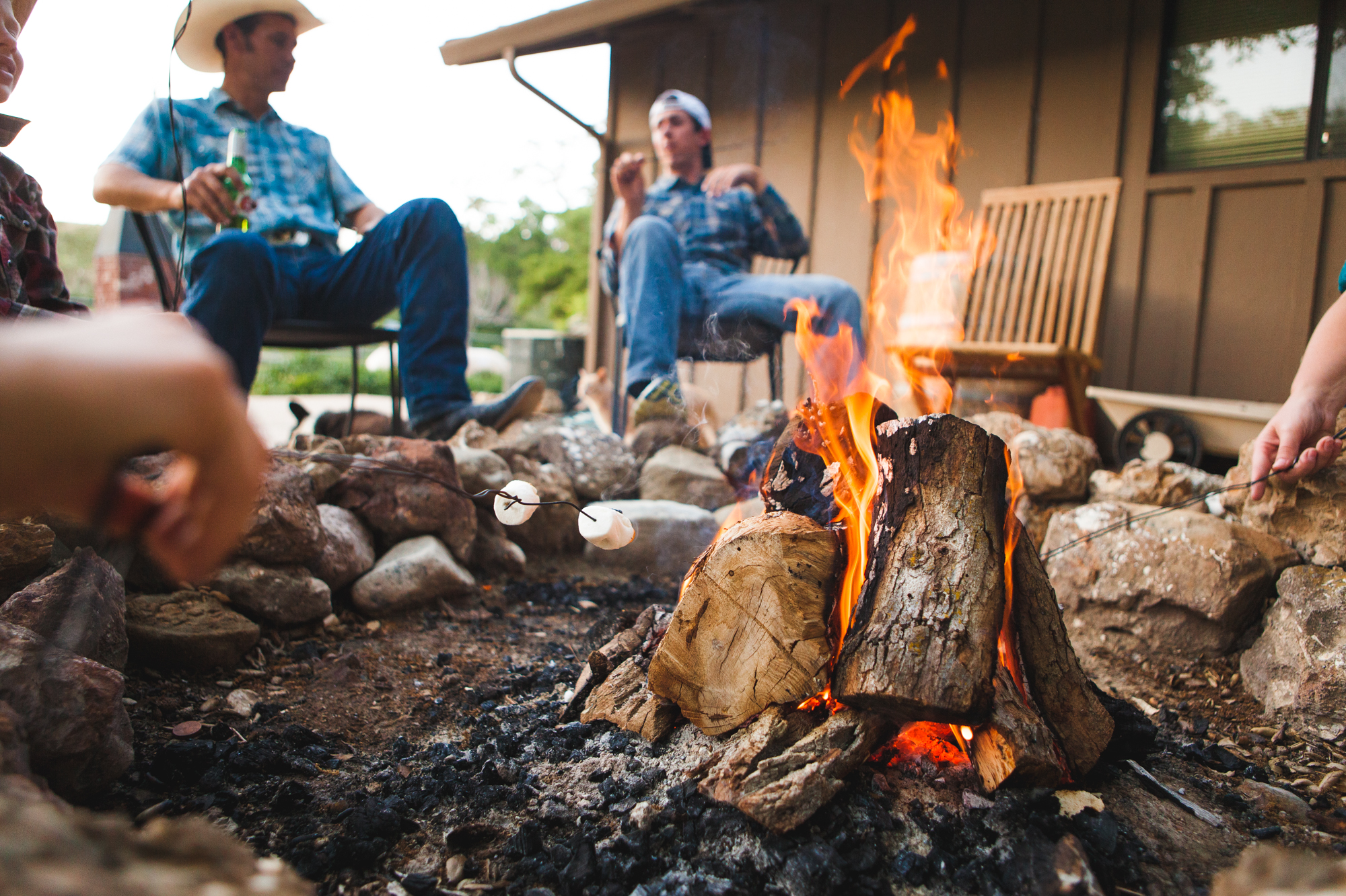 Nightly campfires