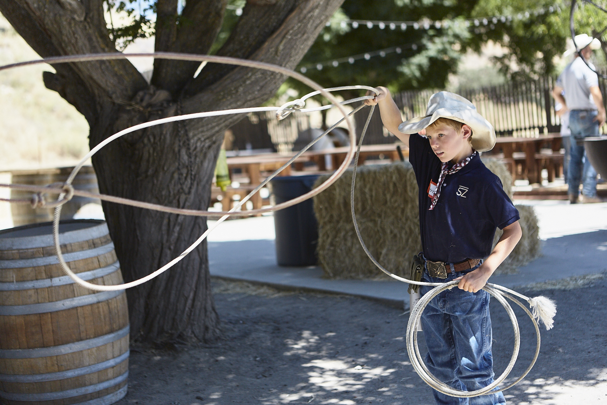 Roping and Archery