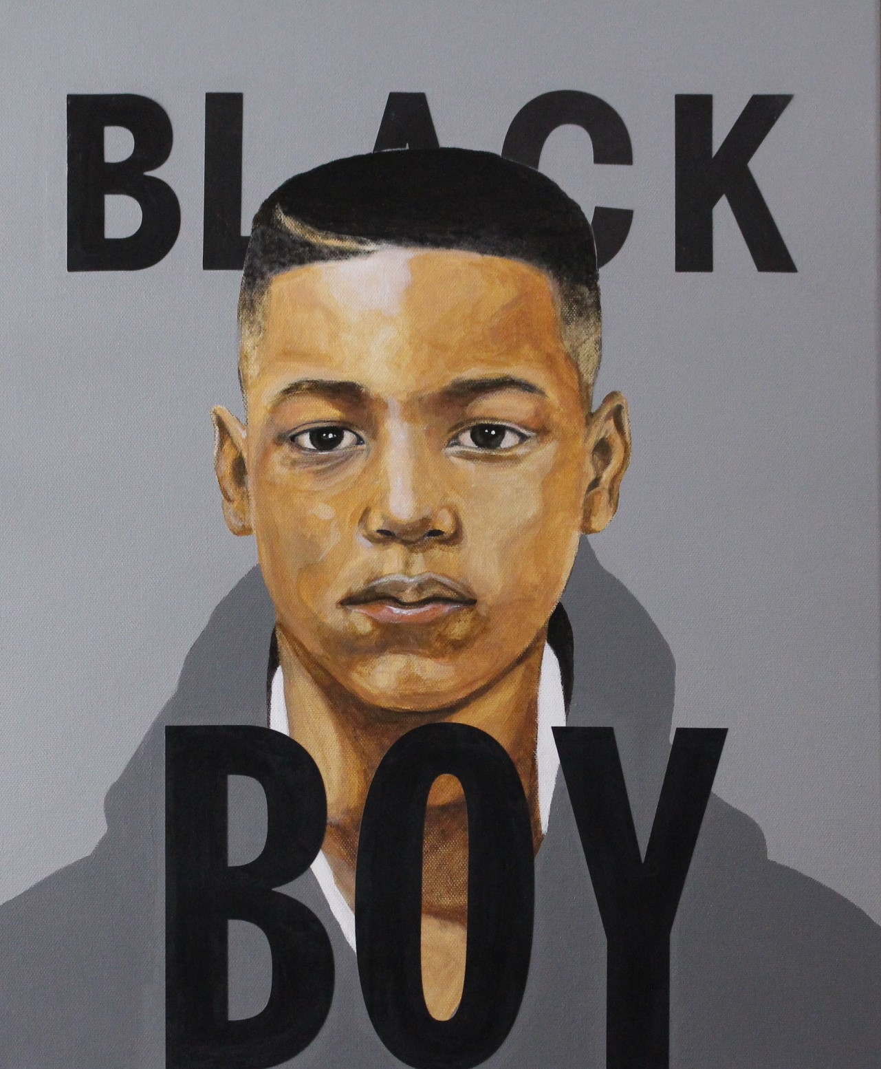 """Black Boy,"" art by Clarence Heyward"