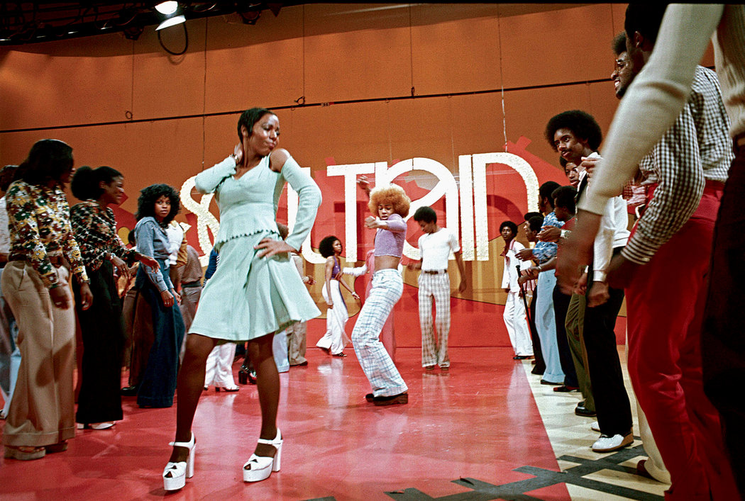 """The """"Soul Train"""" Line, circa 1980. Credit: Soul Train Holdings LLC"""