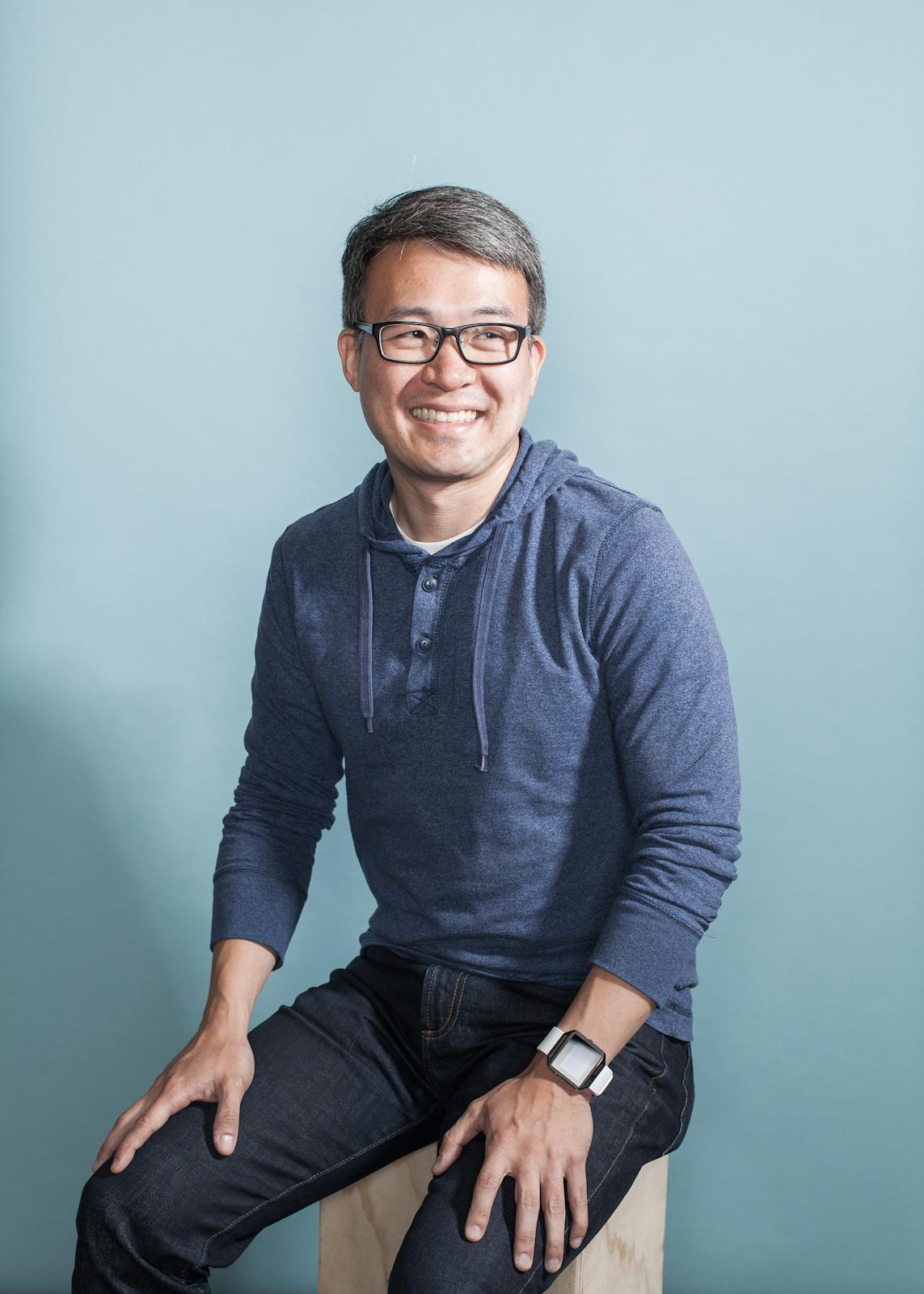 Fitbit CEO James Park.