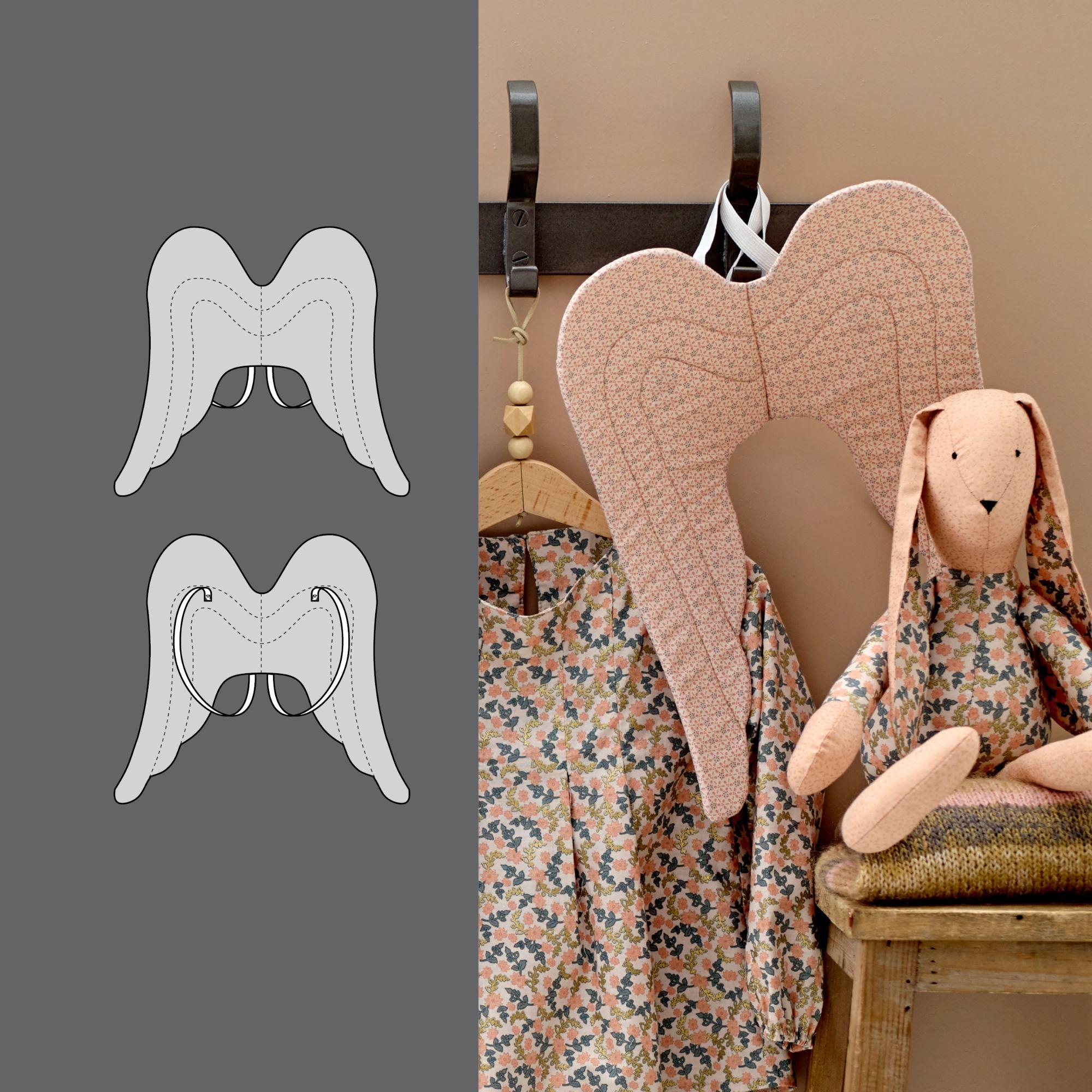 Angel Wings   Stoff und Stil