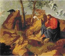 Christ in the Wilderness   Moretto da Brescia (Alessandro Bonvicino) (Italian, Brescian, ca. 1498–1554)
