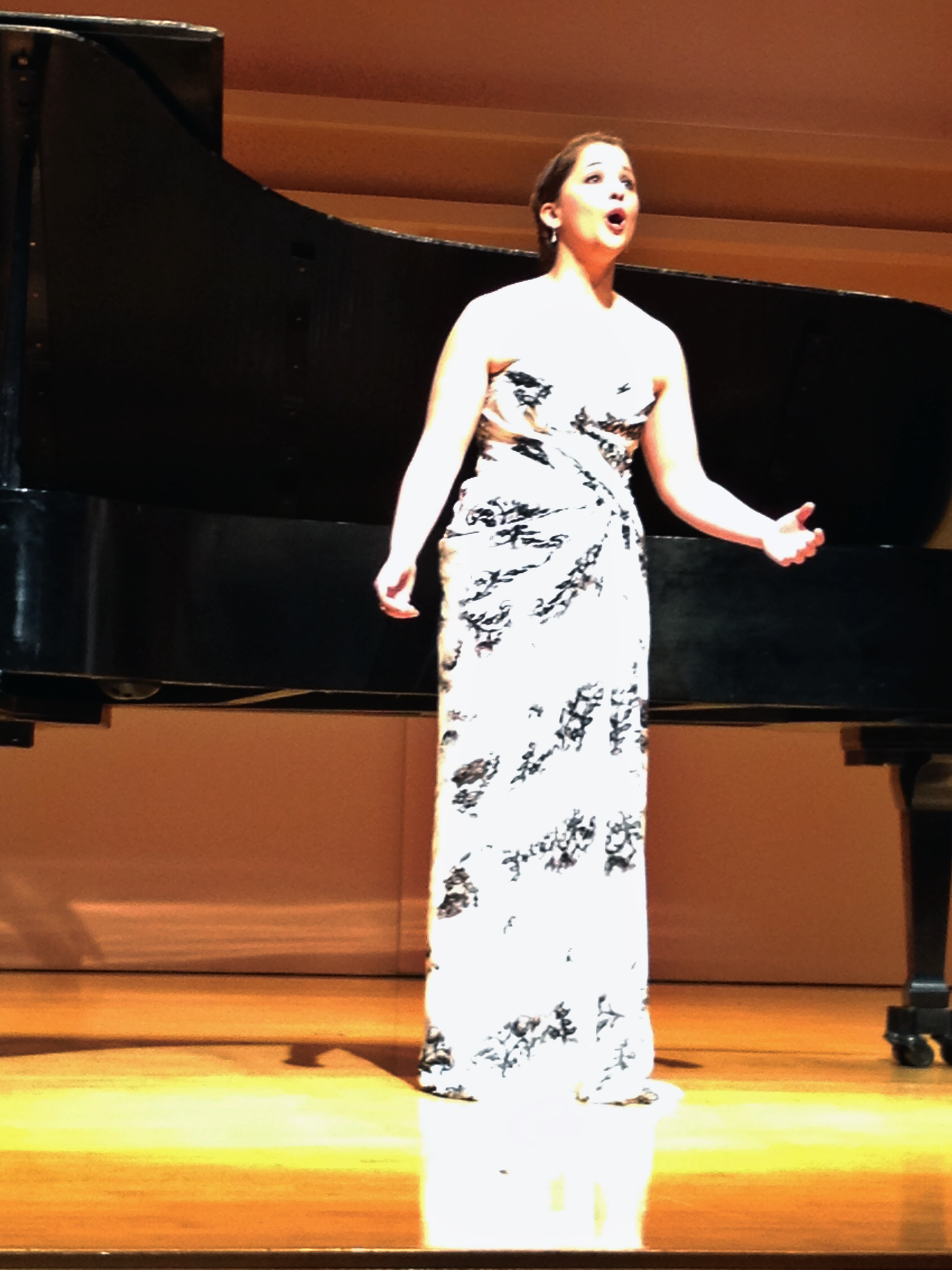 Senior Recital, Rice University 2013