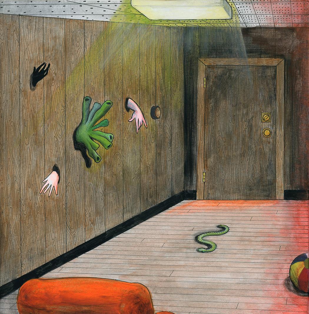 'The Room Next Door Has Bad Vibes' - 2017