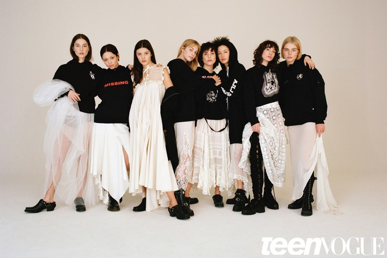 A couple of months back we had  Teen Vogue  at our  Brooklyn soundstage  to shoot a collaborative piece with their friends,No Agency.  No Agency  is a NYC based talent and modeling agency that represent a diverse group of artists who just happen to model as well. Unlike most agencies, they have quite the contrasting approach when it comes to the message they are trying to convey, which overall seems to be that not all models are simply just that. Teen Vogue and photographer  Katie McCurdy  wanted to highlight that in this project at our  Bushwick photo studio .  This dynamic crew showcases all kinds of unique skills and traits on as well as off camera whether it be performance art, music,illustration or even activism.It's quite refreshing to see these women being celebrated for all of the many talents they have--outside of the world that their audience may usually see them in--along with their individual points of view. Teen Vogue and No Agency throw any stigma about modeling out the window with this piece, reflecting that It's not always just about the images you see on paper or online. Check it out  here!