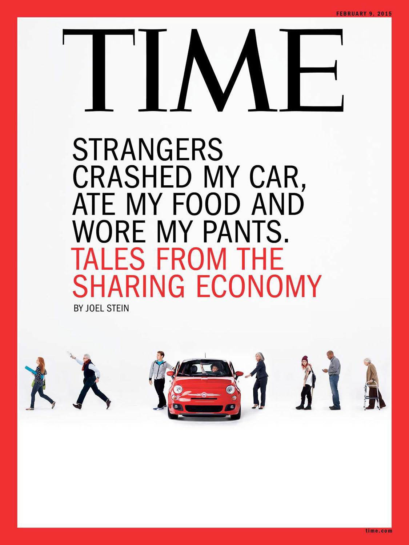 《时代》杂志封面由克里斯·巴克在第二工作室拍摄。