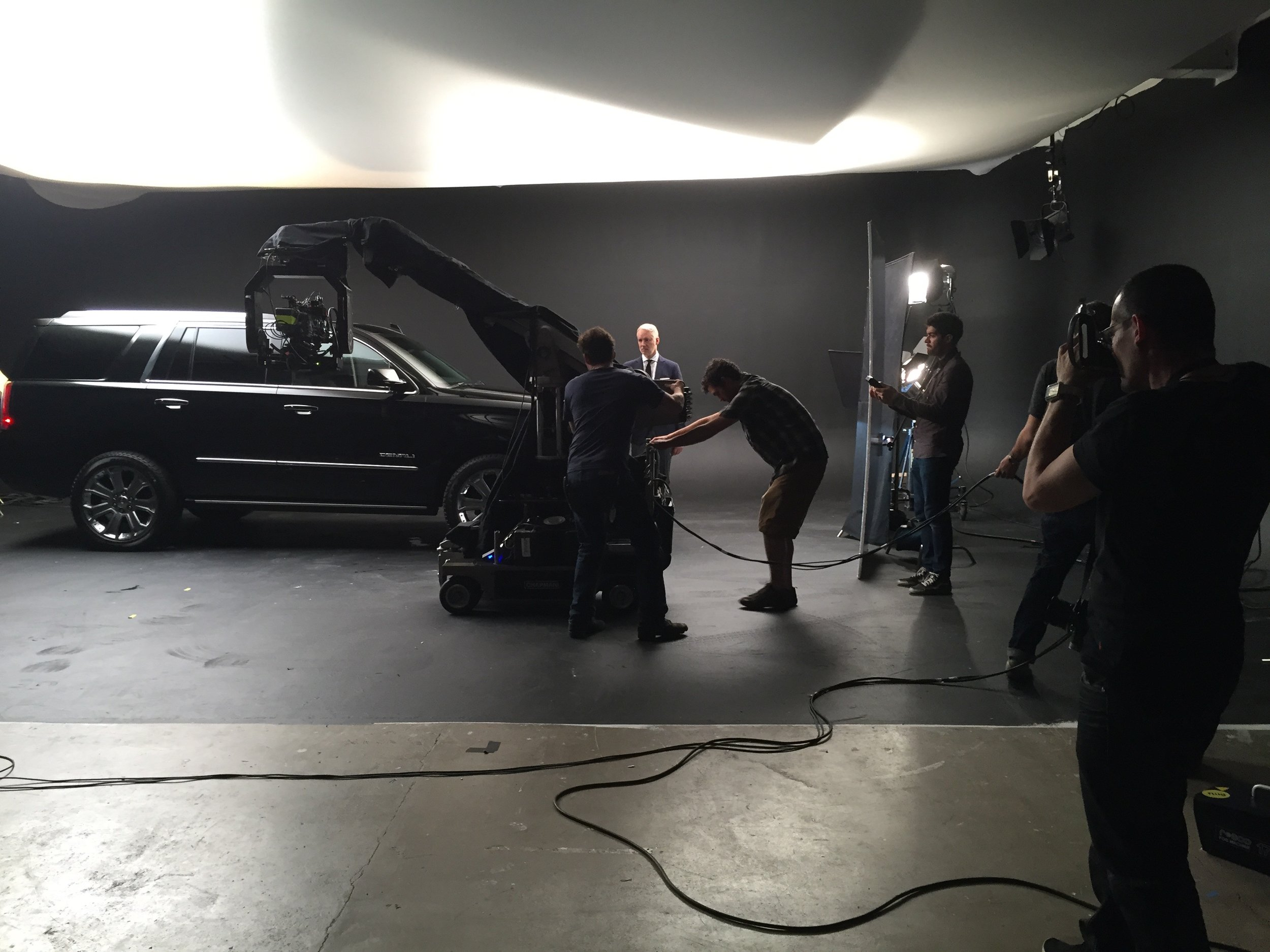 GMC commercial produced by Legs Media.