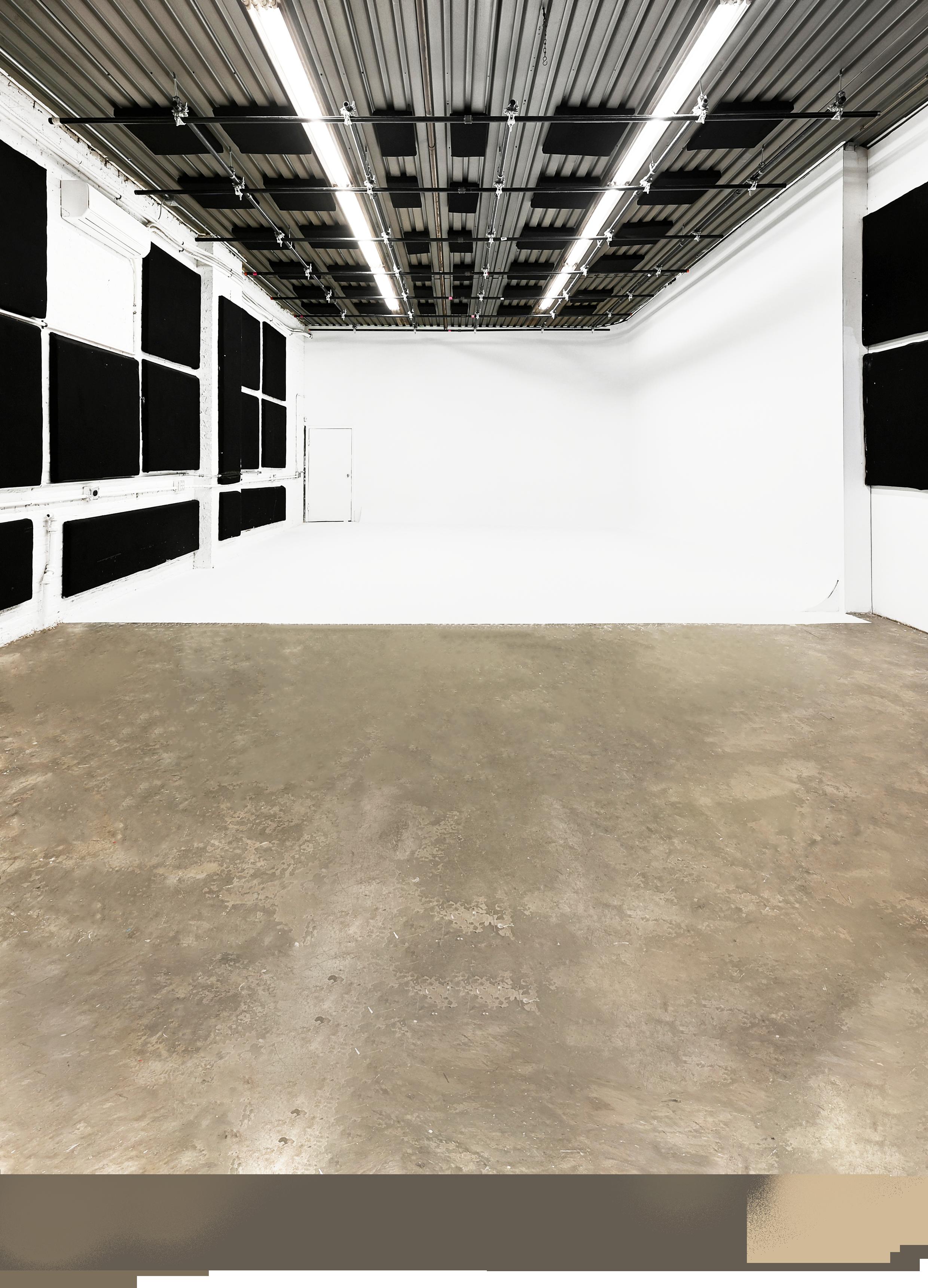演播室1设施:2500平方英尺演播室:1200平方英尺