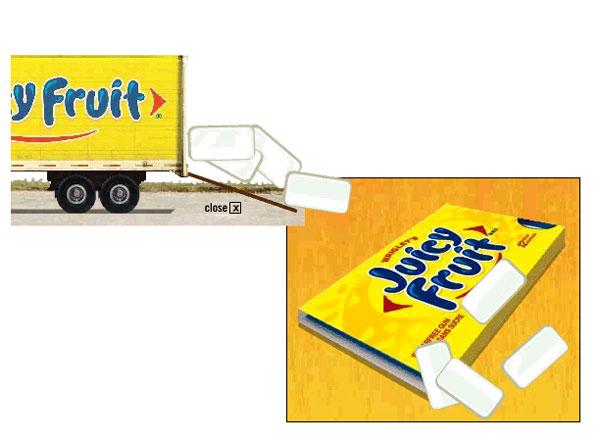 Juicy Fruit - Expandable Big Box - 3