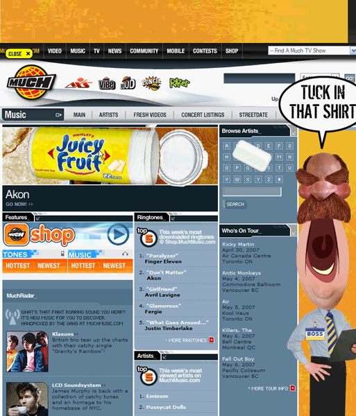 Juicy Fruit - Banner Game Boss - 5