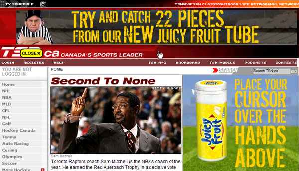 Juicy Fruit - Banner Game Coach - 3