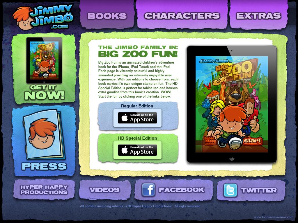 Big Zoo Fun Website - Books
