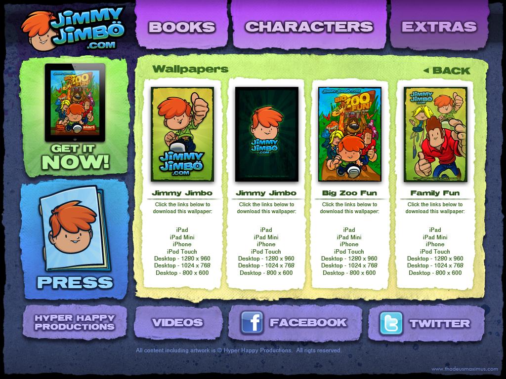 Big Zoo Fun Website - Wallpapers