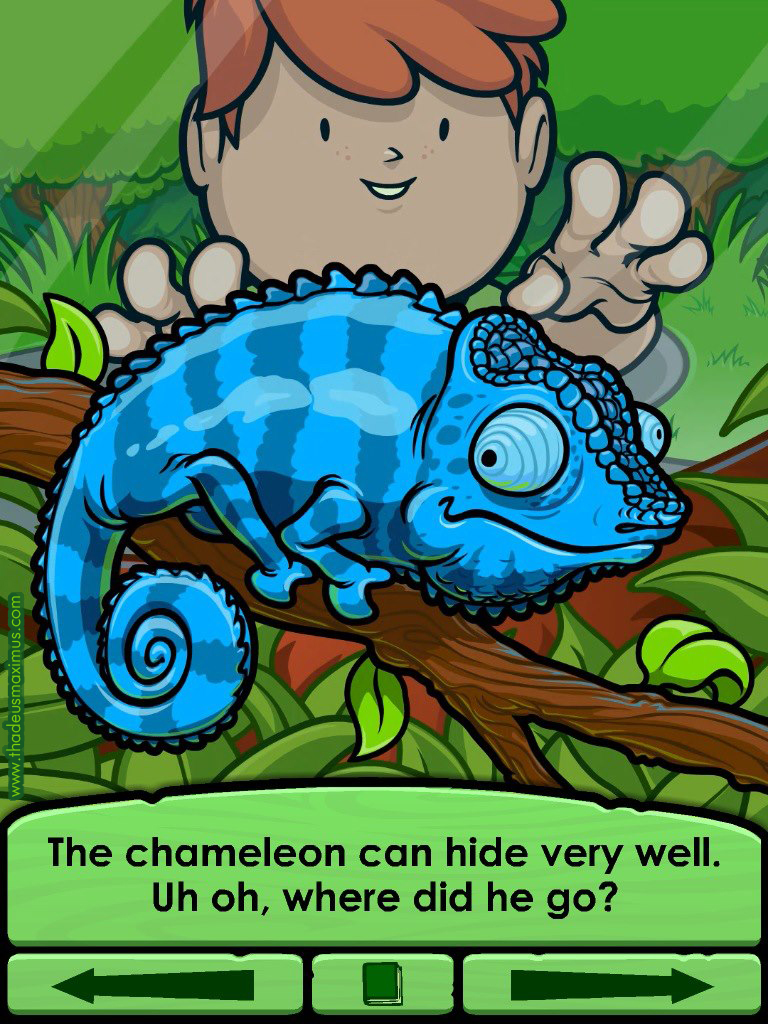 Big Zoo Fun - The Chameleon.