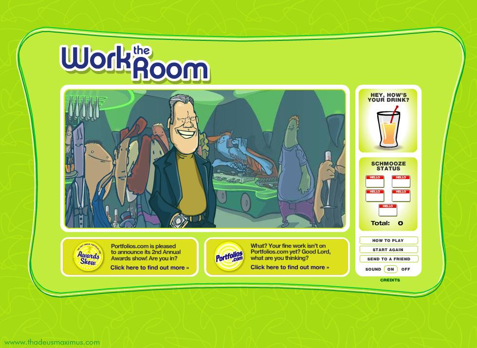 Work The Room - Director