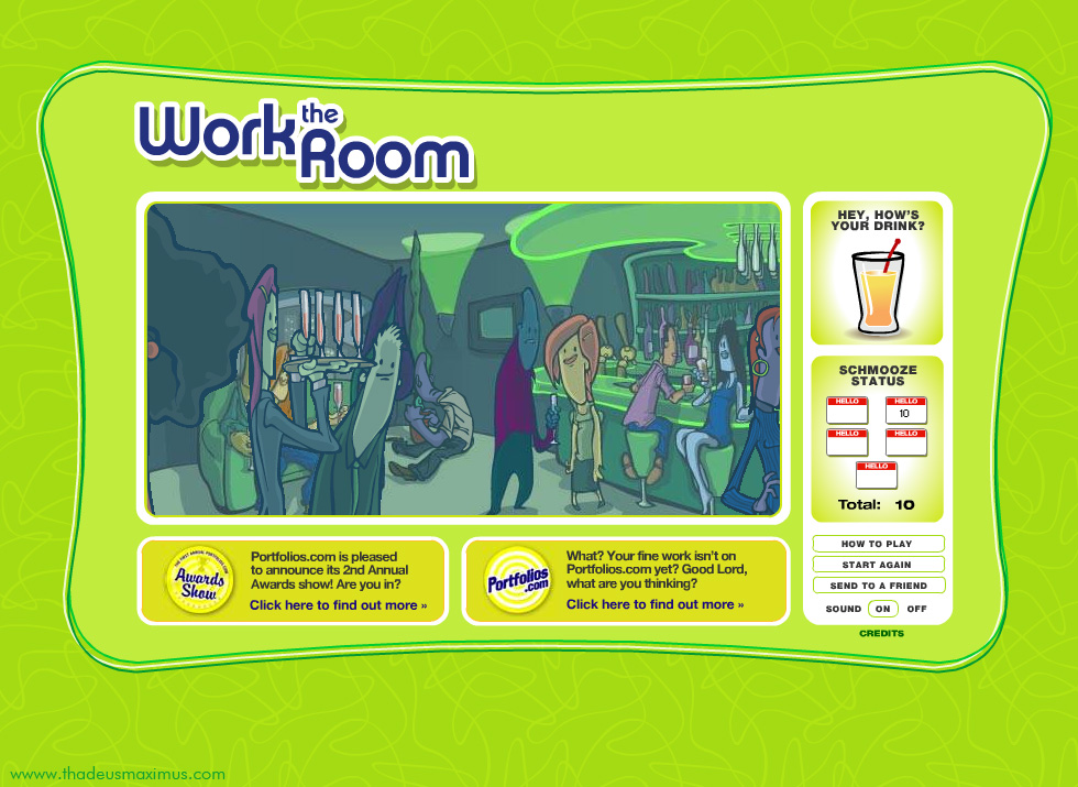 Work The Room - Easter Egg
