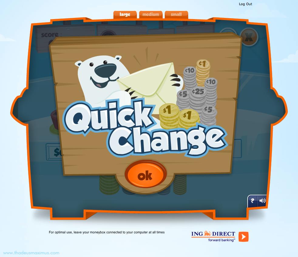 ING - Lil' Savers Money Bank - Quick Change 1