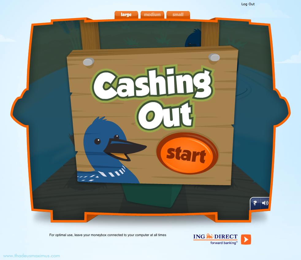 ING - Lil' Savers Money Bank - Cashing Out 1