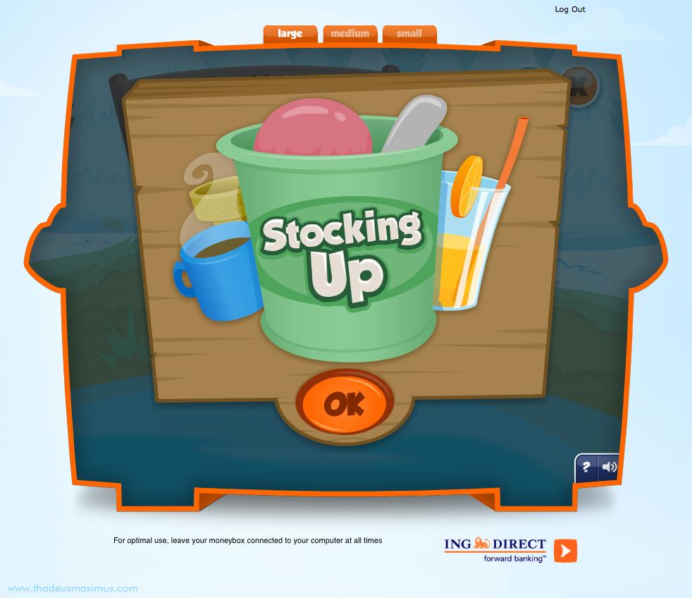 ING - Lil' Savers Money Bank - Stocking Up 1