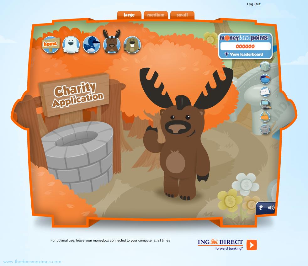 ING - Lil' Savers Money Bank - Moose