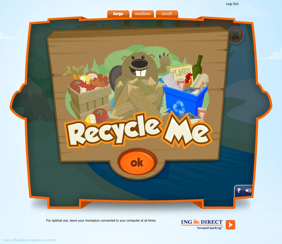 ING - Lil' Savers Money Bank - Recycle Me 1
