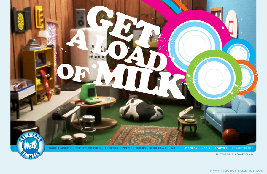 Get a Load of Milk - Home Page