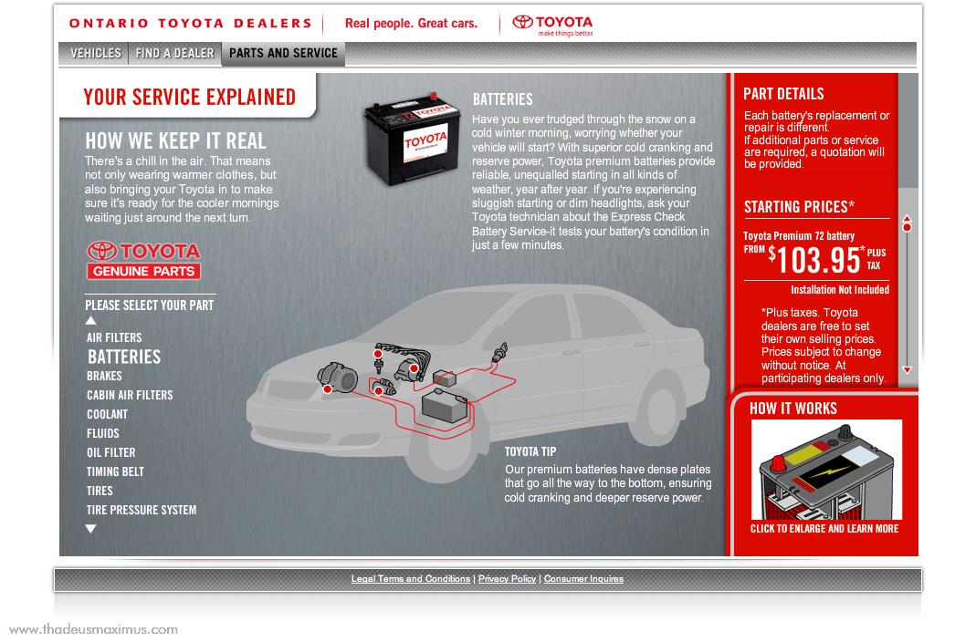 OTDA - Parts and Service - Batteries 1