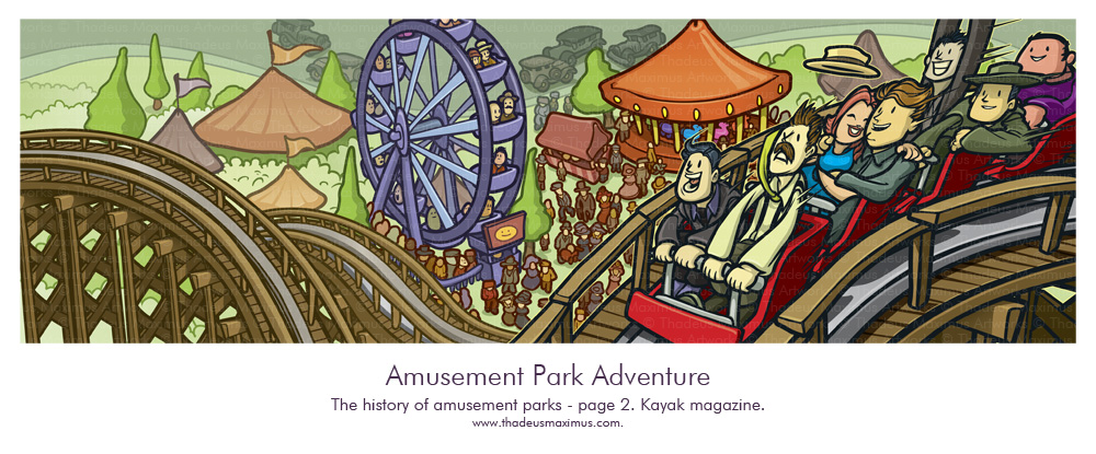 Kayak Magazine - History Of Theme Parks - 2